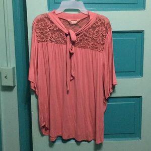 Woman's lace blouse